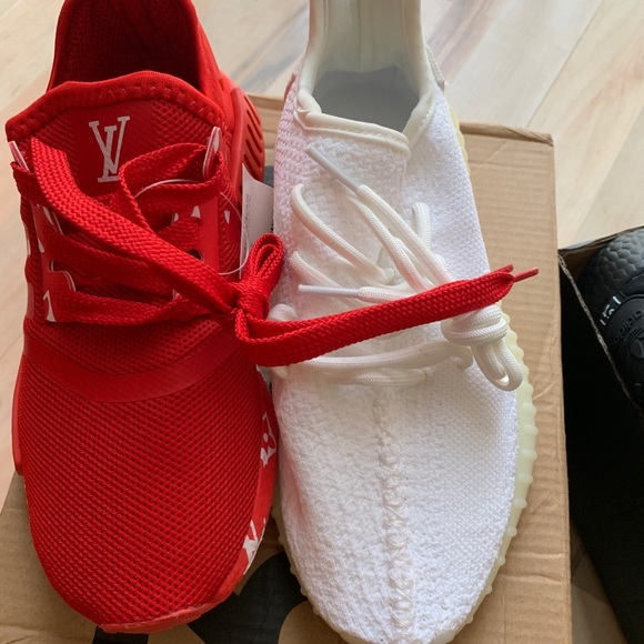 07bf6dc74cd8 Size 5 LV adidas runners   size 5 Yeezy boost 350